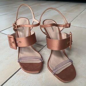 Schutz Heels Sandals
